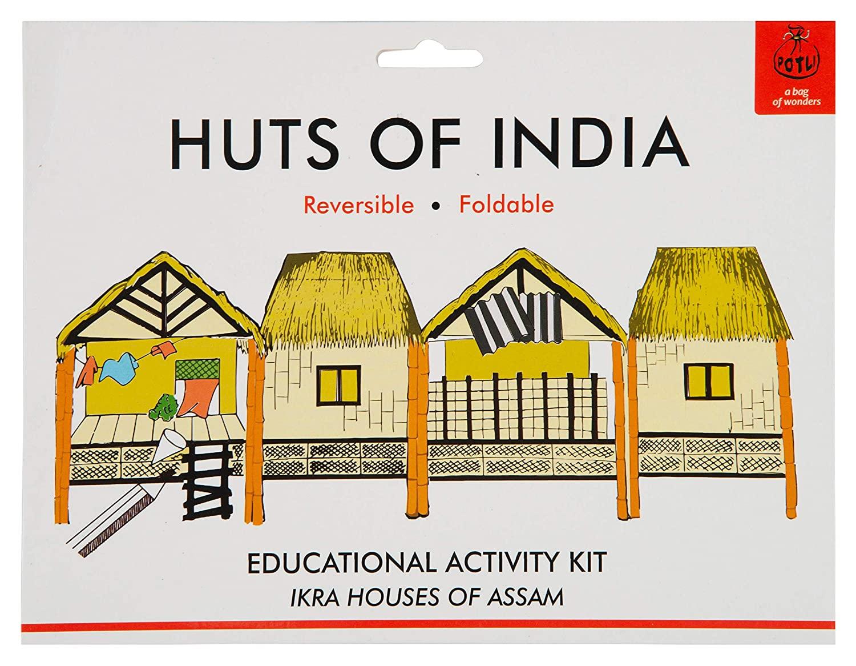DIY Origami Huts of India - Assam