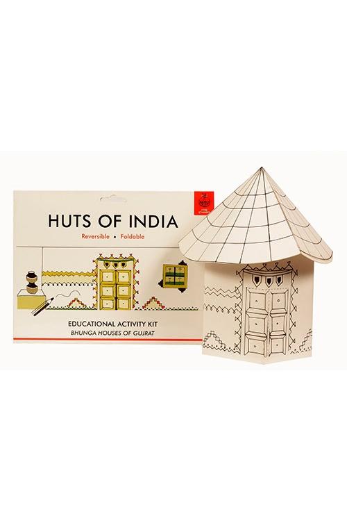 DIY Origami Huts of India - Gujarat - Bonga Huts