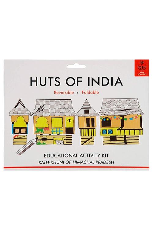 DIY Origami Huts of India - Himachal Pradesh