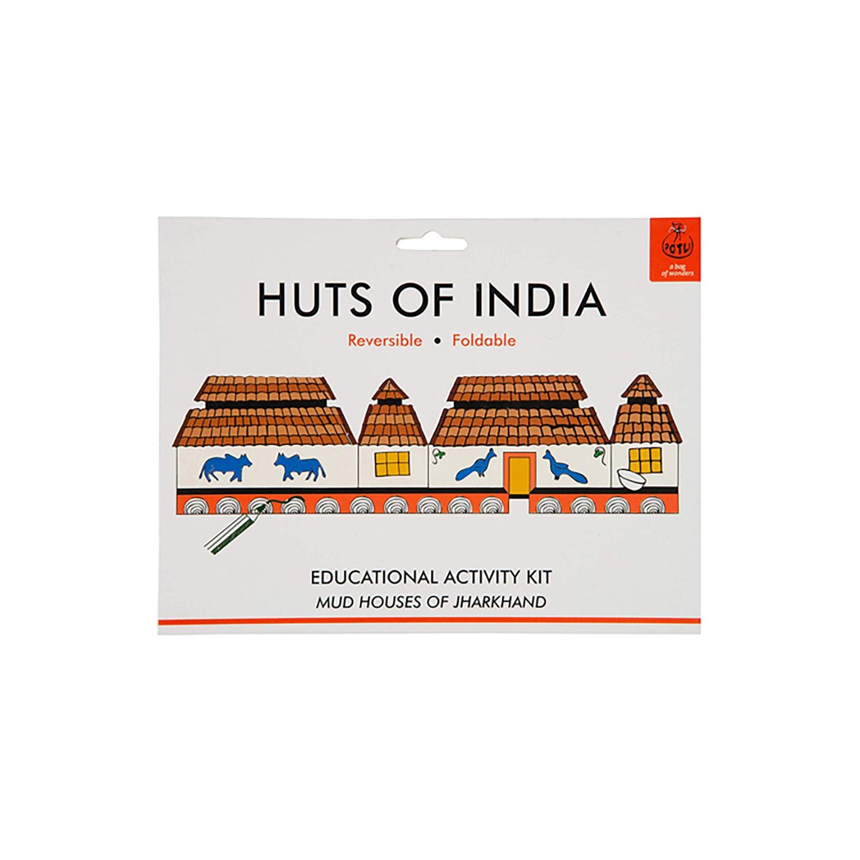 DIY Origami Huts of India - Jharkhand