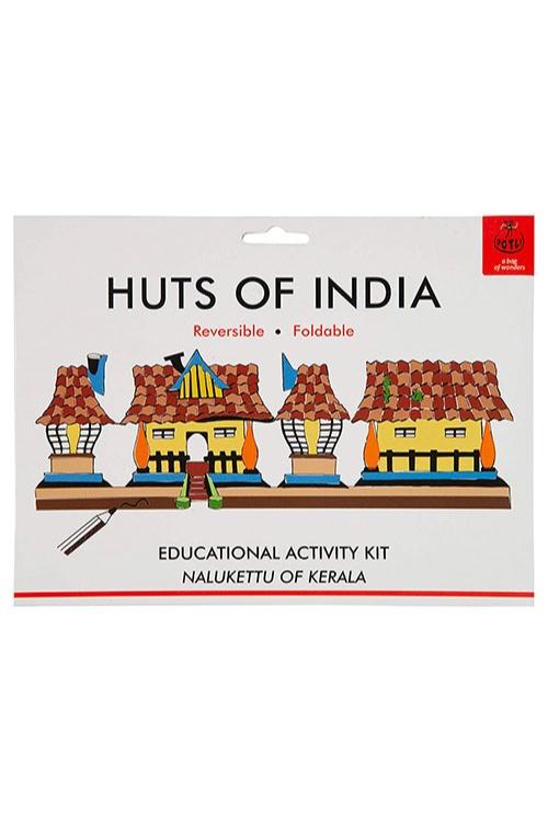 DIY Origami Huts of India - Kerala