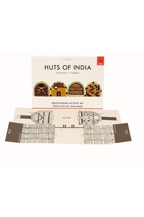 DIY Origami Huts of India - Tamil Nadu